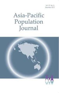 Asia-Pacific Population Journal 2012