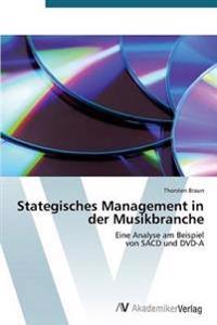 Stategisches Management in Der Musikbranche