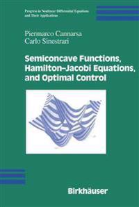 Semiconcave Functions, Hamilton-Jacobi Equations, and Optimal Control