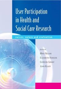 User Participation in Health and Social Care Research