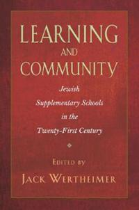 Learning and Community
