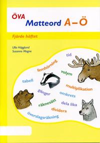 Öva Matteord A-Ö Fjärde boken