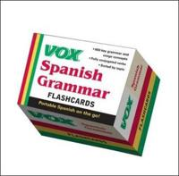 VOX Spanish Grammar Flashcards