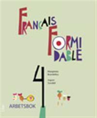 Francais Formidable 4 Arbetsbok