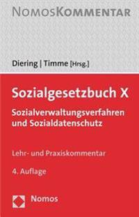 Sozialgesetzbuch X: Sozialverwaltungsverfahren Und Sozialdatenschutz