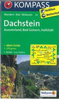 Dachstein - Ausseerland - Bad Goisern - Hallstatt 1 : 50 000