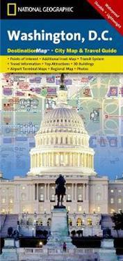 National Geographic Destination Map Washington D.C.