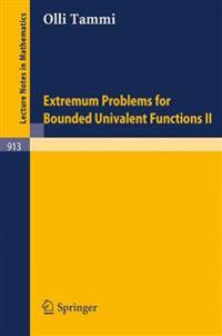 Extremum Problems for Bounded Univalent Functions II