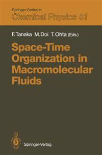 Space-Time Organization in Macromolecular Fluids