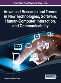 Advanced Research and Trends in New Technologies, Software, Human-Computer Interaction, and Communicability