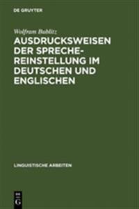 Ausdrucksweisen Der Sprechereinstellung Im Deutschen Und Englischen