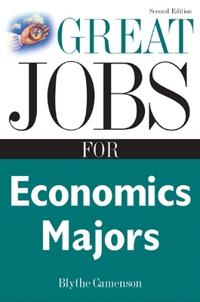 Great Jobs for Economics Majors