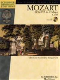 "Mozart - Sonata in C Major, K. 545, ""sonata Facile"" [With CD]"