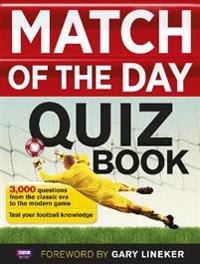 Match of the Day Quiz Book