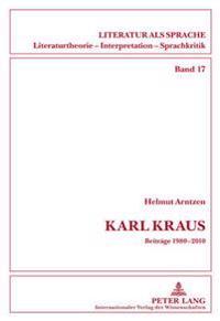 Karl Kraus: Beitraege 1980-2010