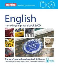 Berlitz English Phrase Book and Dictionary