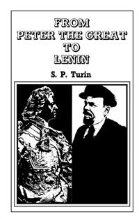From Peter the Great to Lenin Cb