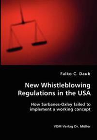 New Whistleblowing Regulations in the USA
