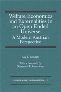 Welfare Economics and Externalities In An Open Ended Universe