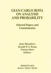 Gian-Carlo Rota on Analysis and Probability