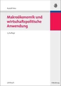 Makro konomik Und Wirtschaftspolitische Anwendung