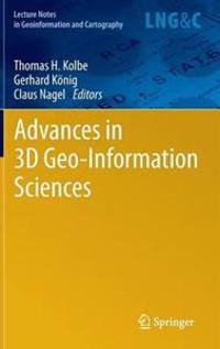 Advances in 3D Geo-Information Sciences