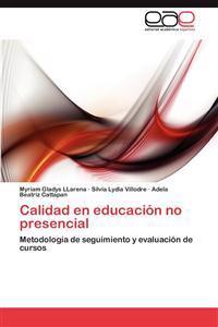 Calidad En Educacion No Presencial