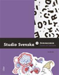 Studio Svenska 4 Övningsbok svenska som andraspråk