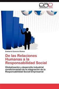 de Las Relaciones Humanas a la Responsabilidad Social