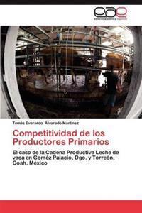 Competitividad de Los Productores Primarios