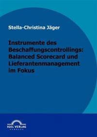 Instrumente Des Beschaffungscontrollings