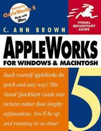AppleWorks 5 for Windows and Macintosh