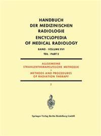 Allgemeine Strahlentherapeutische Methodik