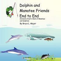 Dolphin and Manatee Friends End to End