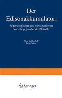 Der Edisonakkumulator