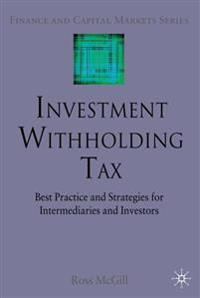 Investment Withholding Tax