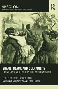 Shame, Blame, and Culpability