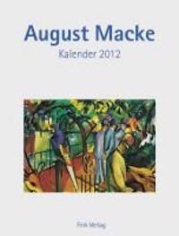 August Macke 2012. Kunstkarten-Einsteckkalender