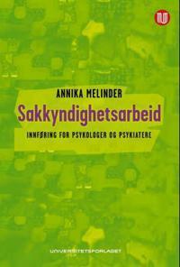 Sakkyndighetsarbeid - Annika Melinder | Inprintwriters.org