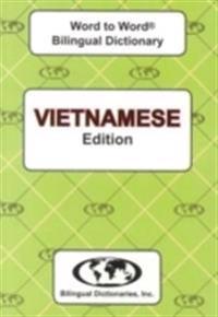 English-VietnameseVietnamese-English Word-to-Word Dictionary