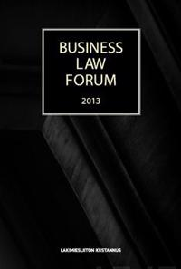 Business Law Forum 2013