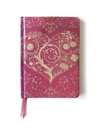 Wild Pink Hearts Contemporary Foiled Journal
