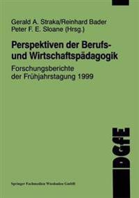 Perspektiven Der Berufs- Und Wirtschaftspädagogik