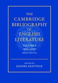 Cambridge Bibliography of English Literature