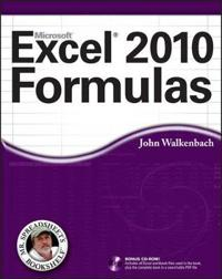 Excel 2010 Formulas [With CDROM]