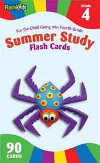 Summer Study Flash Cards Grade 4