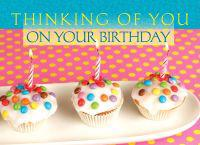 Thinking of You on Your Birthday