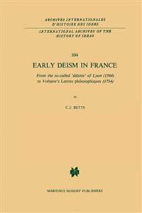 Early Deism in France