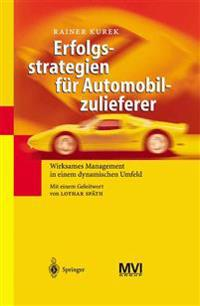 Erfolgsstrategien F r Automobilzulieferer