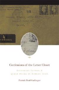 Confessions of the Letter Closet